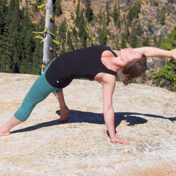 Hemp Yoga Tights Inspire Tights Women's By IntertwinedDesigns