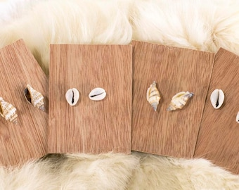 Mermaid Earrings Seashell Stud Ocean Beach Shell Post Earrings
