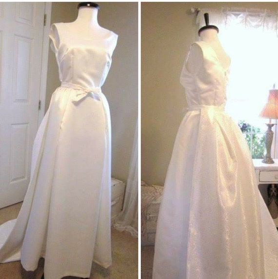 Grace Kelly Inspired Wedding Gowns: 1960's Style Wedding Dress Grace Kelly Style Wedding