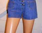 Vintage Jordache Jeans Button Fly Shorts 7/8