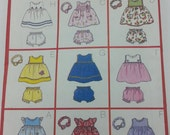 Infant Dress Panties Headband Pattern Butterick 6556 Nine Easy to Sew Infant Dress Styles One Pattern Infant Size large Xlarge