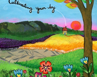 Greeting Card : Cultivating Your Joy #307-C