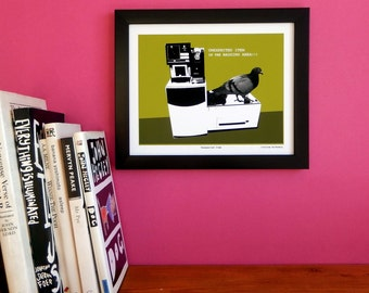Humorous art print for the home 'Unexpected Item'