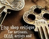 Etsy Shop Critique - personalised etsy shop report for creative sellers who want an authentic store