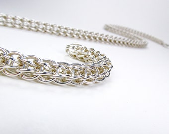 Sterling Silver - Full Persian Necklace
