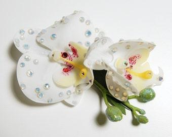 HAVOC Fleur - White Double Orchid