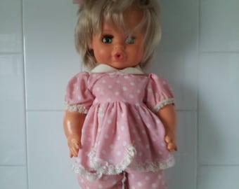 RARE Vintage Regal Toy Canada Kissing Doll
