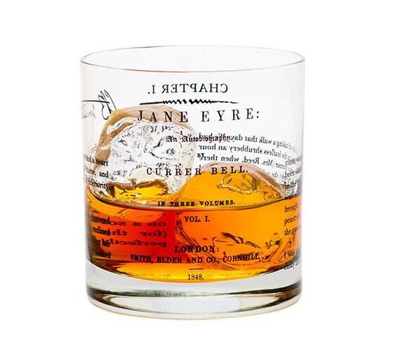 Jane Eyre - Literature Rocks Glass