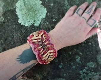 Beast mouth cuff bracelet