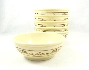 Vintage Syracuse China Bowls. Set of Six