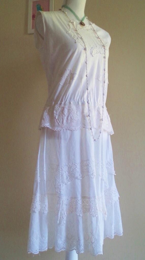 vintage 20s dress 30s dress vintage lace dress antique