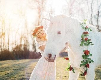 Unicorn Horn for Horses- Unicorn Horse Costume, Unicorn Horn for Pony