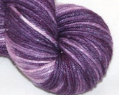 Grape--Twinkle Cat DK--Chromacolour-- SW merino/silk double knitting