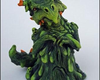 OOAK Dragon Sculpture Slime Dragon SNOT