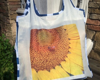 Sunny Sunflower Tote