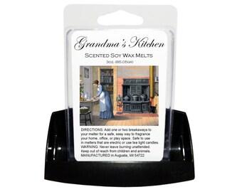 GRANDMA'S KITCHEN Soy Melts // Wax Tarts // Soy Tarts // Candle Tarts // Melting Tarts // Scented Tarts // Dye Free