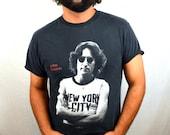 Vintage 90s John Lennon Tshirt Tee Shirt
