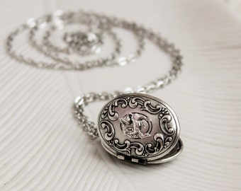 Unicorn Locket Necklace