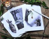 Winter Woodlands - Holiday Greeting Card Set
