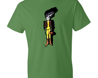 Bride of Frankenstein Rogue Tshirt | Horror | Universal Monsters | Halloween | Film | Comic | Psychobilly | Marvel