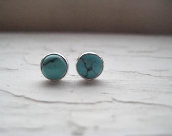 Turquoise Stud/Post Earrings
