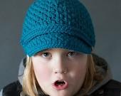 Crochet PATTERN Brighton Newsboy Hat Crochet Newsboy Hat Pattern Includes Sizes Newborn to Adult