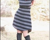 SALE - Dress - Steampunk - Stripes - Gypsyboho - Playa Fashion - Burning Man - Bohemian - Boheme - Short Dress - Sexy - Size X- Small