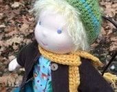 Waldorf Inspired Baby Doll 14 inch Hugo