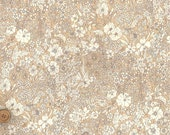 Patrick Gordon, Liberty Tana Lawn Fabric, Liberty of London, Liberty Japan, Cotton Floral Print Scrap, Chic Patchwork Quilt fabric, kt1160y