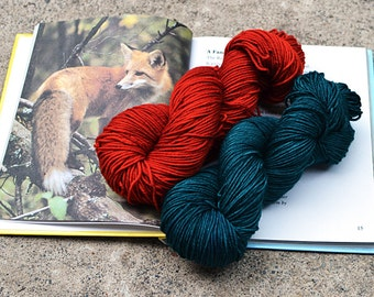 Yarn Club - hand dyed luxury sock or worsted - 3 month membership