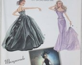 "15 1/2"" Doll Clothes Simplicity Sewing  Pattern 5709 Patti Wagner-Miller Masquerade Full Skirt Dress Narrow Skirt with Train & Veil"