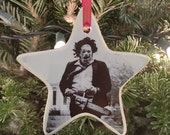 Who Will Survive Leatherface Ornament