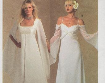 McCalls 5003 / Bridal Elegance Sewing Pattern / Evening Gown / Empire Wedding Dress / Sizes 8 10 12 14