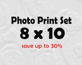 8x10 Prints - 8x10 Photos 8x10 Set of Prints (SAVE 30%)