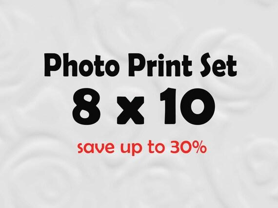 8x10 Prints - 8x10 Photos 8x10 Set of Prints (SAVE 30%)