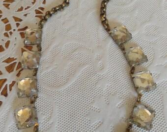 ART DECO Choker Fabulous Rhinestone Wedding Heirloom Piece