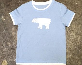 Origami Polar Bear Toddler T-Shirt - Screenprint Tee