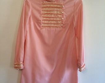 1960s Rosemary's Baby Mini Dress