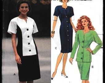 Butterick 5264 Misses' Misses-Petite Dress,Top and Skirt Jessica Howard