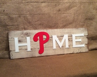 Philadelphia Phillies HOME plaque, sign