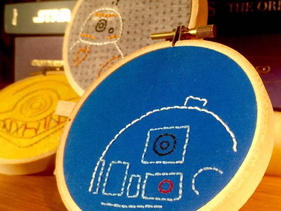 Mini Star Wars Droid Gift Set of 3: R2D2, C3PO & BB-8