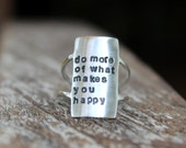 Own Your Statement Ring