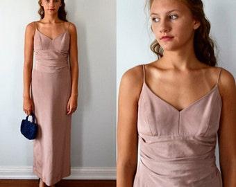 Vintage Dress, Vintage Nicole Miller, Nicole Miller New York City,  Beige Evening Gown,  Evening Gown, Vintage Maxi Dress, Formal Maxi Dress