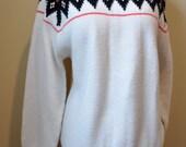 Vintage Large Ski Sweater