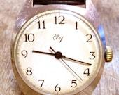 RARE Vintage Soviet Russian style watch SVET mens watch mens wristwatch