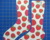 4 Sizes! Raspberry Sock Blockers