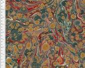 Marbled Paper, Handmade 48x67cm 19x26in SERIES Book Binding