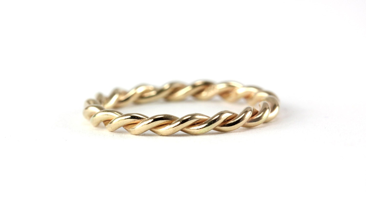 infinite twisted rope ring band wedding band engagement