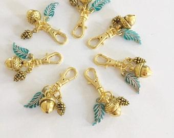 golden acorn charm [a marine parents exclusive!]