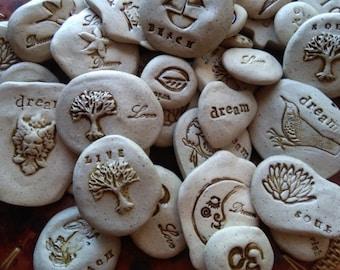 Handmade Ceramic stone